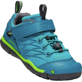 Keen Chandler CNX Shoes Children Tahitian Tide/Bright Green